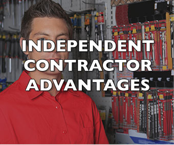 INDEPENDENT CONTRACTOR ADVANTAGES